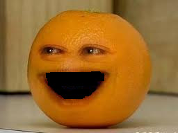 Annoying Orange without Teeth by mjroady