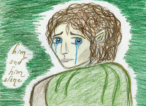 Frodo Alone By Rendemona