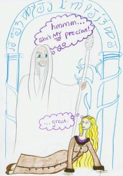 Gandalfs Precious by Rendemona