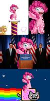 Pinkie Pie in: Fun with Photoshop. :B