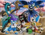 Super Happy Mega Special Squad Ponyu Force GO