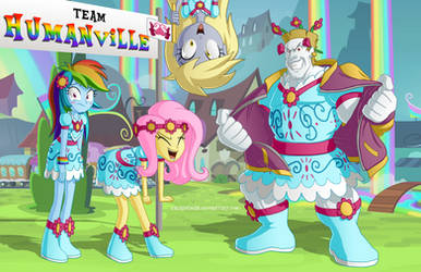 Equestria Girls 3: Go Team Humanville! by BerryPAWNCH