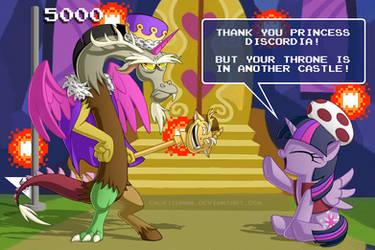 Super Princess Discordia World Bros. by BerryPAWNCH