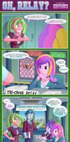EQG Comic: OH, RELAY?