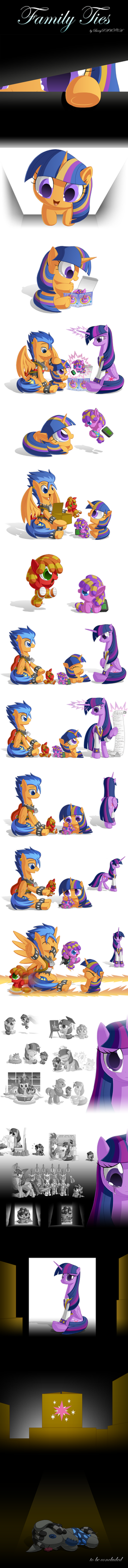 Growing Pains II: Family Ties by BerryPAWNCH