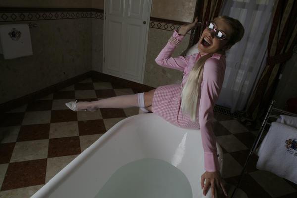 Teacher in the toilet