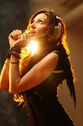 Music angel II by AngieStock