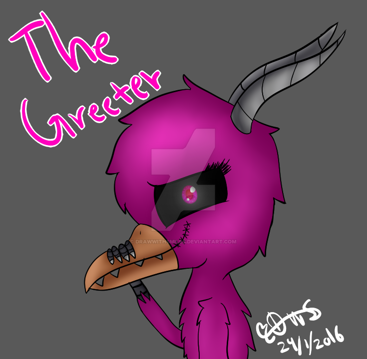 the greeter 123 SMS by DrawWithSmiles