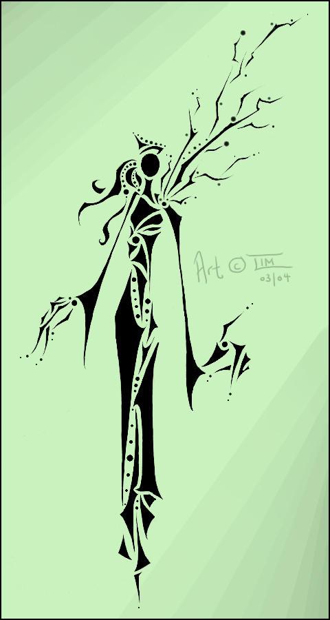 Stick Figures : Nymph by DarkLacuna