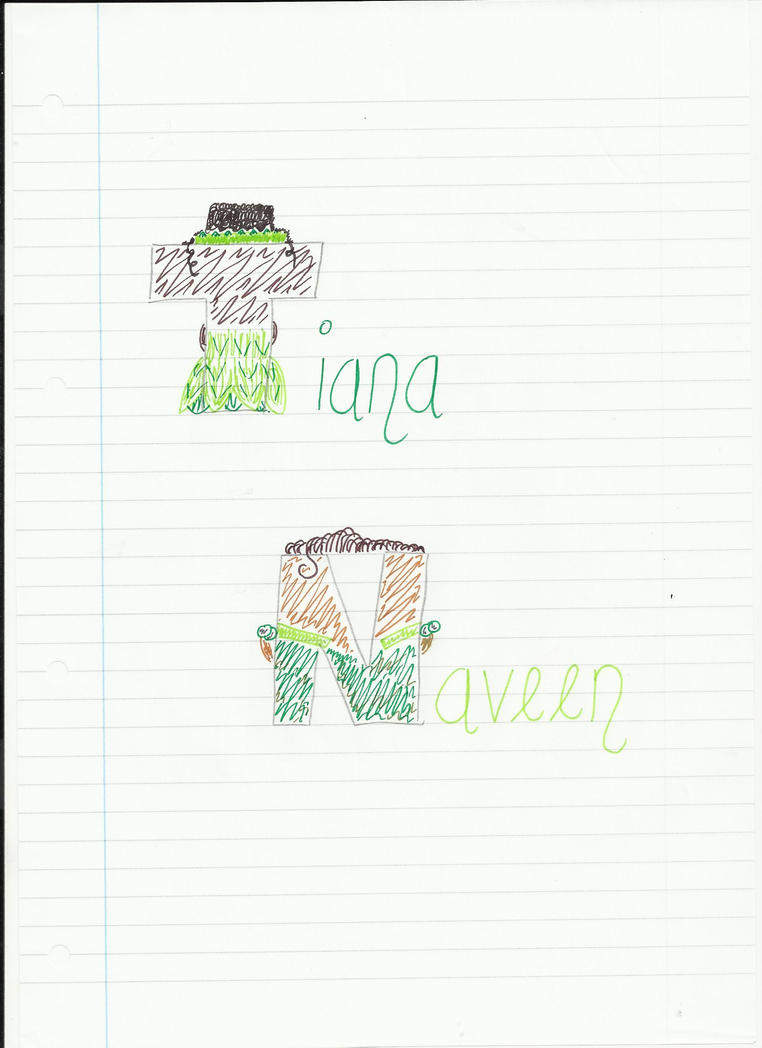 Tiana and Naveen by Topdog562