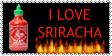 Sriracha Stamp by simplexkitten