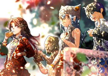 DoD Highschool: Friendship in Summer ! by FuyuDust