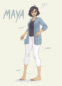 6ft Maya