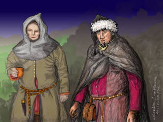 Slavonic Warriors / Topienie Marzanny by boddah1985