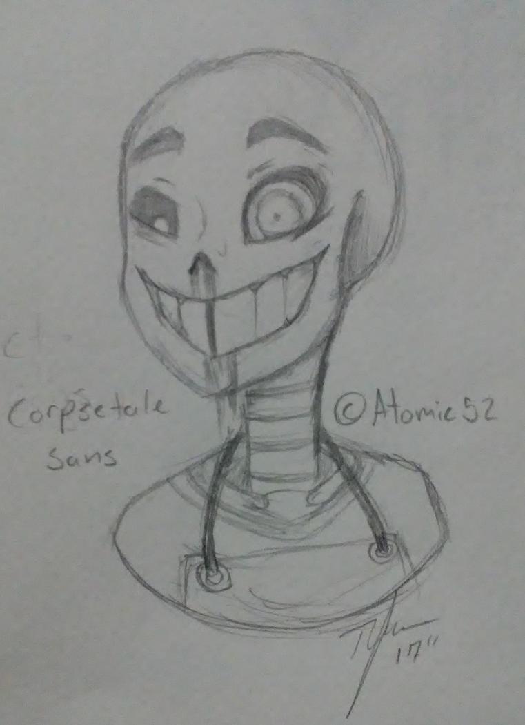 CorpseTale Sans by xHarpieNightx