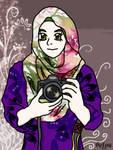 DSLR muslimah girl