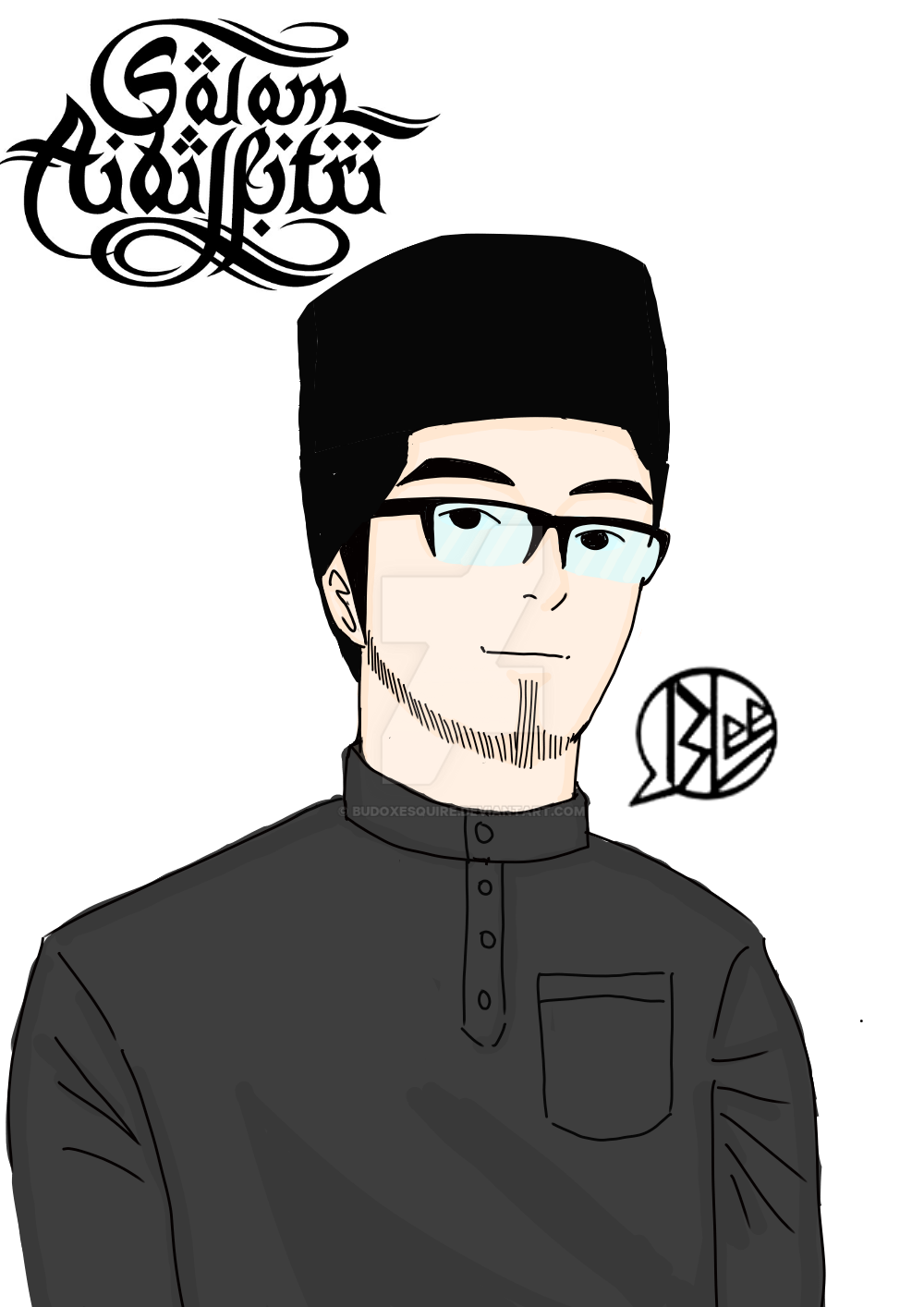 salam aidilfitri 1437 by budoxesquire
