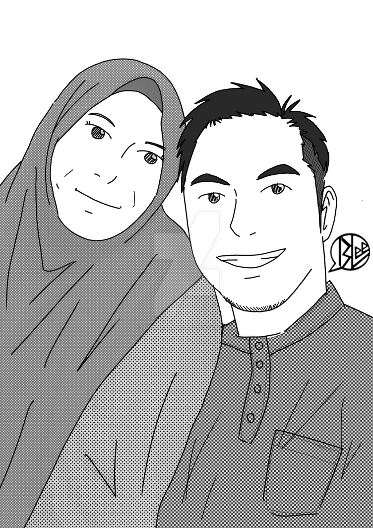 my friend and his mom by budoxesquire