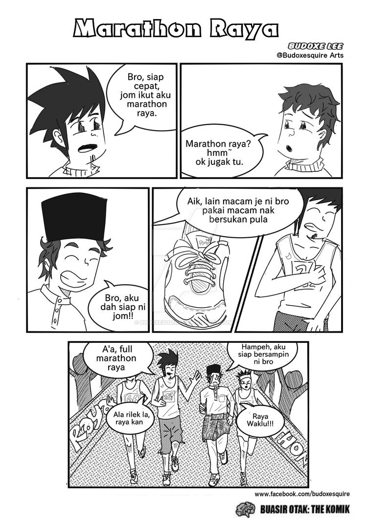 marathon raya by budoxesquire