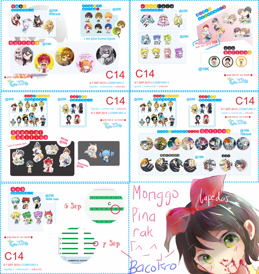 COMIFURO 4 | Catalog by lapedas