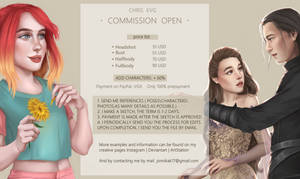 Commission Open   Price LIst by ChrisEvg