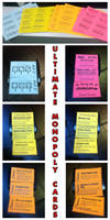 Ultimate Monopoly Action Cards - Dead Tree Edition