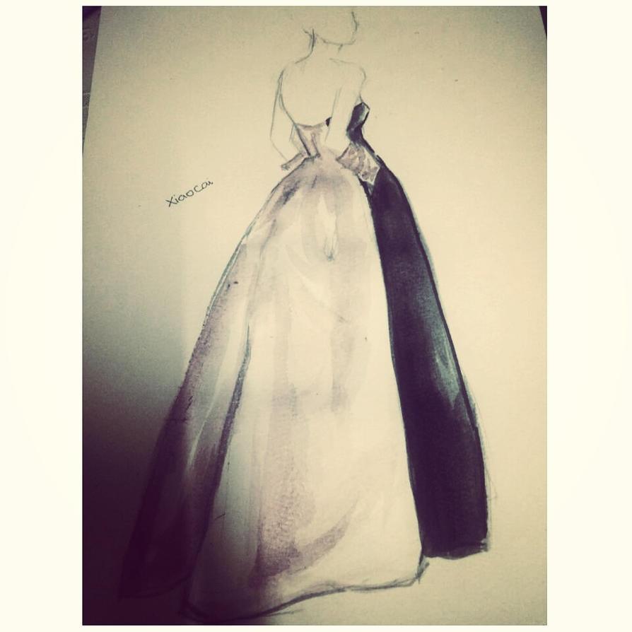 Today's fashion illustration by phuongkonbanwa