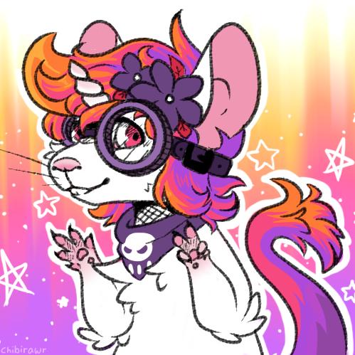 Unicorn mouse by lillacs