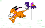Duck Hunt Dog by AlphaAnt4