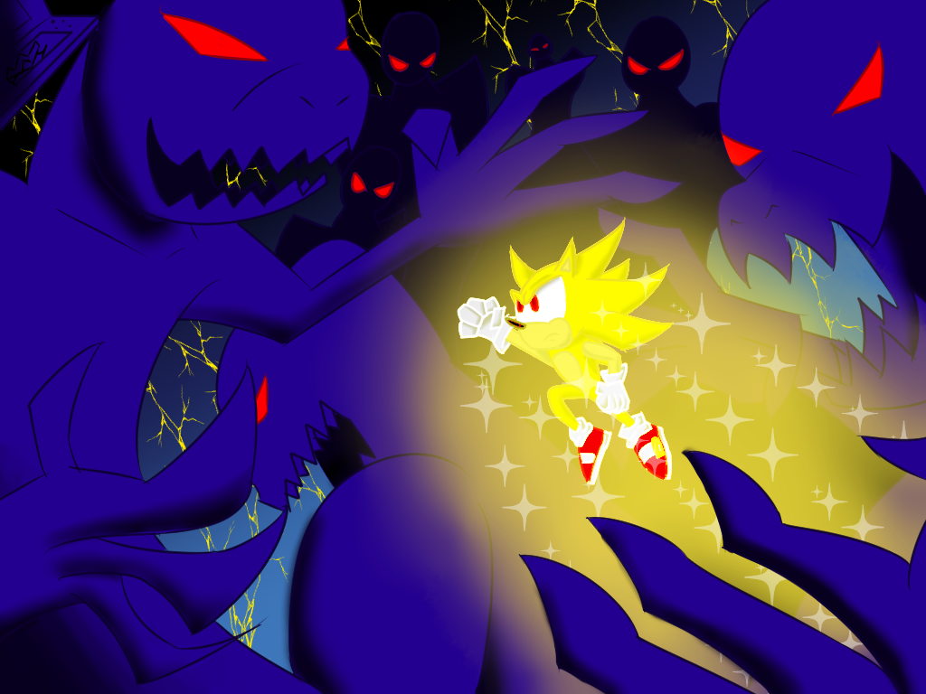 Sonic's greatest enemy of all by AlphaAnt4