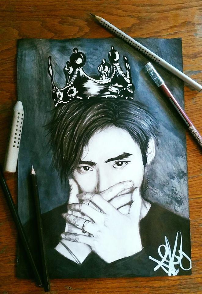Black Prince ~Lee Jong-Suk ~ by AlexaHeartfilia