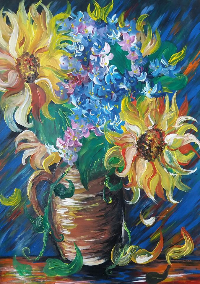 Flower Vase By Alexaheartfilia On Deviantart