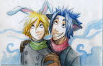 Cloud and Zack