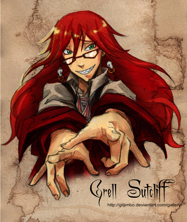 Grell X Male Reader by DMC3Vergil on DeviantArt