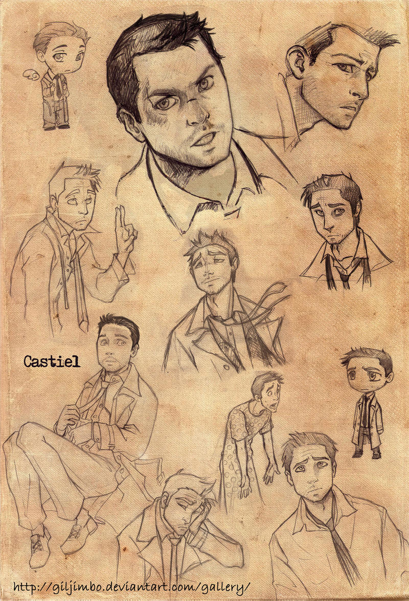 CastielSketches by GilJimbo