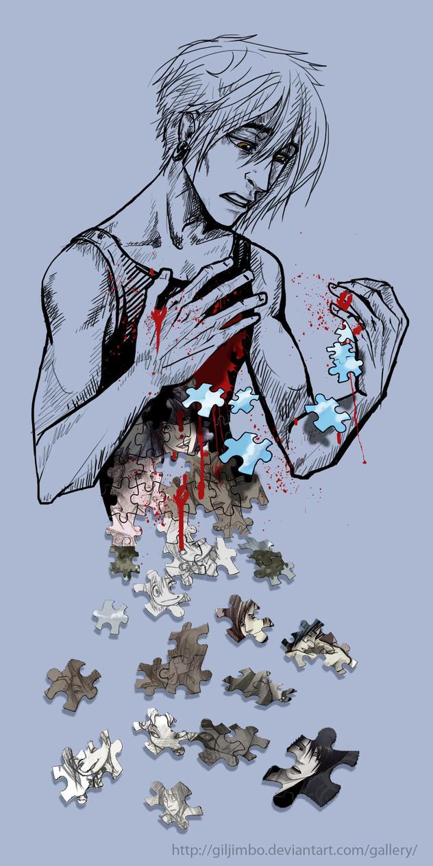 I'm just the pieces of the man I used to be... by GilJimbo