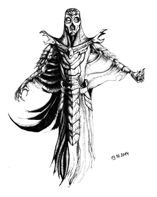Dragon Priest By Naseilen On DeviantArt