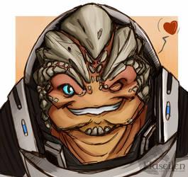 Grunt loves ya by Naseilen