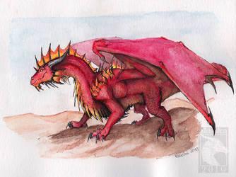 Dragon 28 - Red Guardian by Naseilen