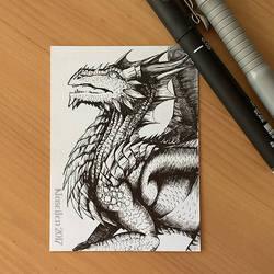 Dragon 38 - Ink by Naseilen