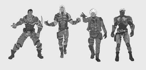 manhunter sketches