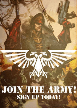Imperial Guard Recruit Poster