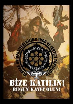 Uludag BKFT Recruiting Poster