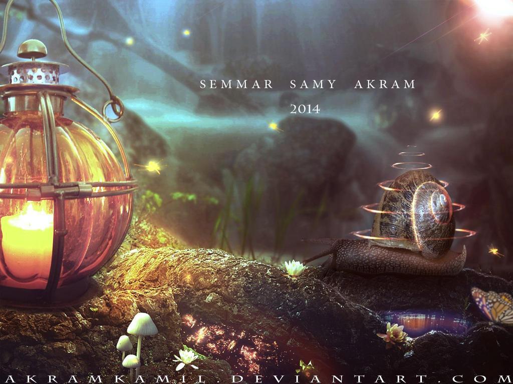 Fantasy Snail by akramkamil