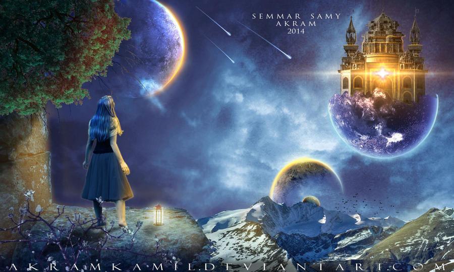 Life In The Sky by akramkamil