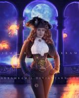 Steampunk Pirate by akramkamil