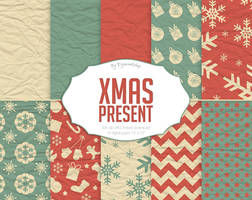 Christmas Present Digital Paper