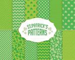 Saint Patricks Day Digital Paper