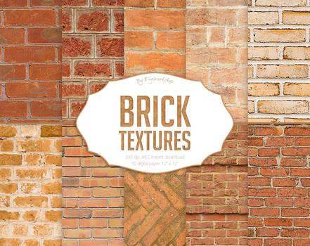 Brick Digital Paper Brick Textures