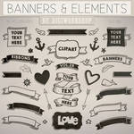 Banners Clip Art Clipart Banners and Elements
